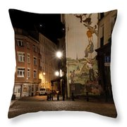 The Adventures Of Nero Throw Pillow by Juli Scalzi