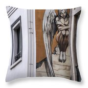 The Angel Throw Pillow by Juli Scalzi