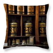 The Apothecary Throw Pillow by Heather Applegate