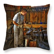The Apprentice Hdr Throw Pillow by Steve Harrington