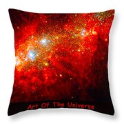 The Art Of The Universe 309 Throw Pillow by The Hubble Telescope
