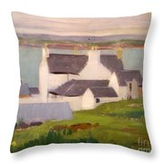 The Artists Studio Iona Throw Pillow by Francis Campbell Boileau Cadell