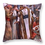 The Ascension Throw Pillow by Harold Copping