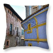 The Blue House Throw Pillow by RicardMN Photography