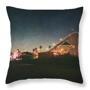 The Boardwalk Throw Pillow by Laurie Search