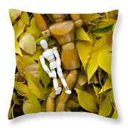 The Bonding Time Throw Pillow by Angelina Vick