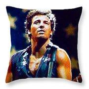 The Boss Throw Pillow by John Travisano
