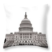 The Capitol Throw Pillow by Olivier Le Queinec