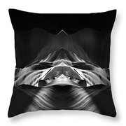 The Cave Throw Pillow by Adam Romanowicz