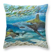 The Chase Throw Pillow by Carey Chen