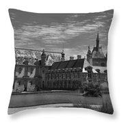 The Chateau  Throw Pillow by Maj Seda