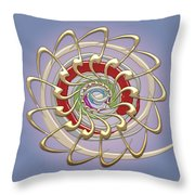 The Creation Throw Pillow by Serge Averbukh