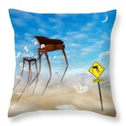 The Crossing 2 Throw Pillow by Mike McGlothlen