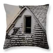 The Crows Nest Throw Pillow by Susan Capuano