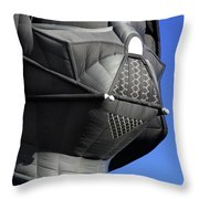 The Dark Side Throw Pillow by Mike McGlothlen