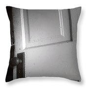 The Dark Throw Pillow by Trish Mistric