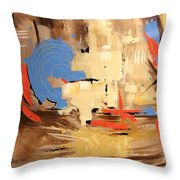 The Deliverer Will Come From Zion Throw Pillow by Anthony Falbo