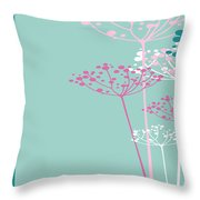 The Dill 1 Version 1 Throw Pillow by Angelina Vick