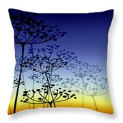 The Dill 3 Version 4 Throw Pillow by Angelina Vick