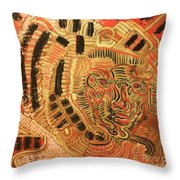 The Distant Throw Pillow by Michael Kulick