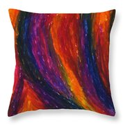 The Divine Fire Throw Pillow by Daina White