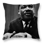 The Dreamer Throw Pillow by Benjamin Yeager