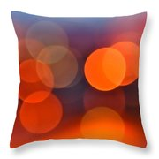 The Edge Of Night Throw Pillow by Rona Black