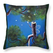 The Enchanted By Shawna Erback Throw Pillow by Shawna Erback