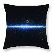 The Entire Wise Sky Throw Pillow by Adam Romanowicz