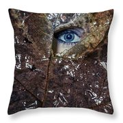 The Eye Throw Pillow by Joana Kruse
