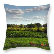 The Farm Throw Pillow by Joann Vitali