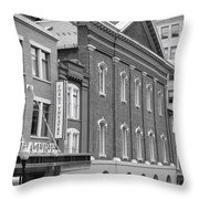 The Ford Theater  Throw Pillow by Olivier Le Queinec