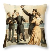 The Forst is mine Throw Pillow by Aged Pixel
