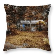 The Girl Left Behind Throw Pillow by Skip Nall