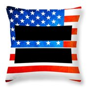 The Goal - Equality Art By Sharon Cummings Throw Pillow by Sharon Cummings
