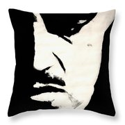 The Godfather Throw Pillow by Dale Loos Jr