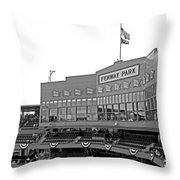 The Good Seats Throw Pillow by Barbara McDevitt