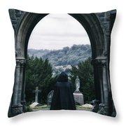 The Graveyard Throw Pillow by Joana Kruse