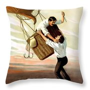 The Great Ruby Throw Pillow by Terry Reynoldson