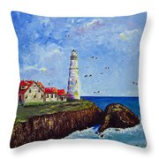 The Guardian Throw Pillow by Dottie Kinn