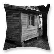 The Guest Room Throw Pillow by David Lee Thompson