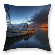 The Guiding Light Throw Pillow by English Landscapes