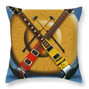 The Hammer Throw Pillow by Mike McGlothlen