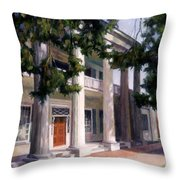 The Hermitage Throw Pillow by Janet King