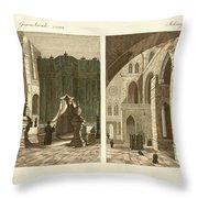 The Holy Sepulcher Of Jerusalem Throw Pillow by Splendid Art Prints