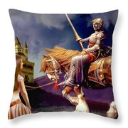 The Homecoming Throw Pillow by Ronald Chambers
