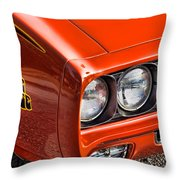 The Judge Throw Pillow by Gordon Dean II