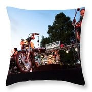 The Kingpins II Throw Pillow by David Patterson
