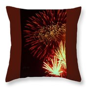 The Land Of The Free Throw Pillow by Robert ONeil