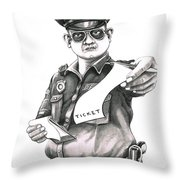 The Law Throw Pillow by Murphy Elliott